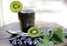 Blueberry & Kiwi Smoothie
