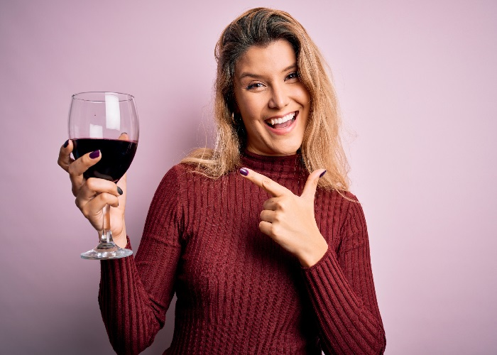 Are you suffering from 'wine face'?