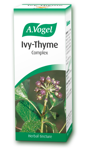 Ivy Thyme Fresh Herb Extracts Organically Grown Unique Combination Created By Alfred Vogel