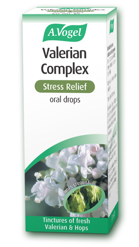 Valerian Complex Stress Relief – for stress and mild anxiety